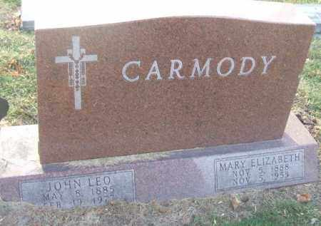 CARMODY, MARY ELIZABETH - Minnehaha County, South Dakota | MARY ELIZABETH CARMODY - South Dakota Gravestone Photos