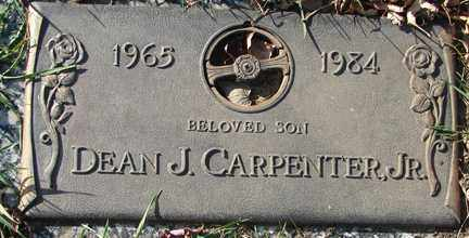 CARPENTER, DEAN J. JR. - Minnehaha County, South Dakota | DEAN J. JR. CARPENTER - South Dakota Gravestone Photos