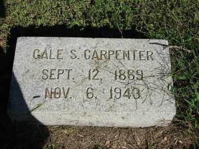 CARPENTER, GALE S. - Minnehaha County, South Dakota | GALE S. CARPENTER - South Dakota Gravestone Photos