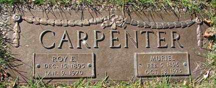 CARPENTER, ROY E. - Minnehaha County, South Dakota | ROY E. CARPENTER - South Dakota Gravestone Photos