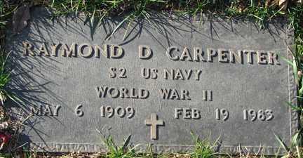 CARPENTER, RAYMOND D. (WWII) - Minnehaha County, South Dakota | RAYMOND D. (WWII) CARPENTER - South Dakota Gravestone Photos