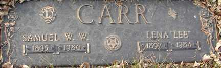 CARR, LENA LEE - Minnehaha County, South Dakota | LENA LEE CARR - South Dakota Gravestone Photos