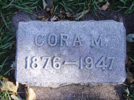 CARROLL, CORA M. - Minnehaha County, South Dakota   CORA M. CARROLL - South Dakota Gravestone Photos