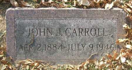 CARROLL, JOHN J. - Minnehaha County, South Dakota   JOHN J. CARROLL - South Dakota Gravestone Photos
