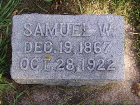 CARROLL, SAMUEL W. - Minnehaha County, South Dakota | SAMUEL W. CARROLL - South Dakota Gravestone Photos