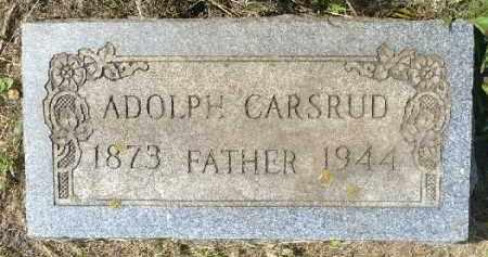 CARSRUD, ADOLPH - Minnehaha County, South Dakota | ADOLPH CARSRUD - South Dakota Gravestone Photos