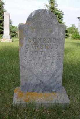 CARSRUD, CONRAD - Minnehaha County, South Dakota | CONRAD CARSRUD - South Dakota Gravestone Photos