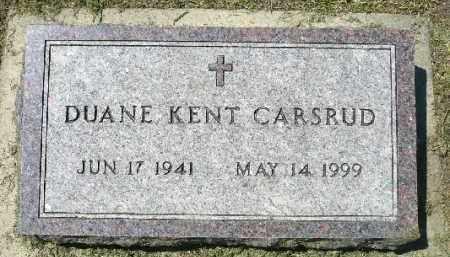CARSRUD, DUANE KENT - Minnehaha County, South Dakota | DUANE KENT CARSRUD - South Dakota Gravestone Photos