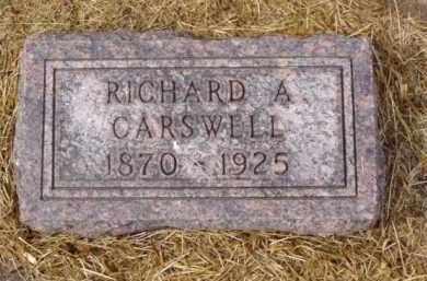 CARSWELL, RICHARD A. - Minnehaha County, South Dakota | RICHARD A. CARSWELL - South Dakota Gravestone Photos