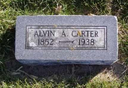 CARTER, ALVIN A. - Minnehaha County, South Dakota   ALVIN A. CARTER - South Dakota Gravestone Photos