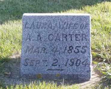 CARTER, LAURA - Minnehaha County, South Dakota | LAURA CARTER - South Dakota Gravestone Photos