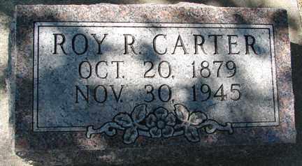 CARTER, ROY R. - Minnehaha County, South Dakota   ROY R. CARTER - South Dakota Gravestone Photos