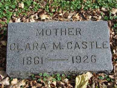 CASTLE, CLARA M. - Minnehaha County, South Dakota | CLARA M. CASTLE - South Dakota Gravestone Photos