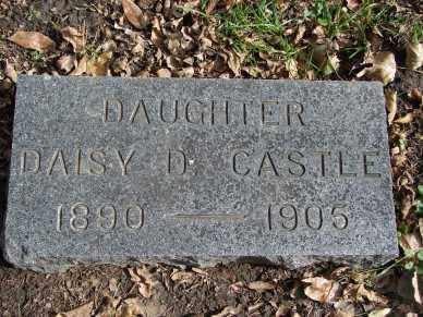 CASTLE, DAISY D. - Minnehaha County, South Dakota | DAISY D. CASTLE - South Dakota Gravestone Photos