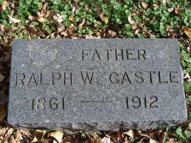CASTLE, RALPH W. - Minnehaha County, South Dakota | RALPH W. CASTLE - South Dakota Gravestone Photos