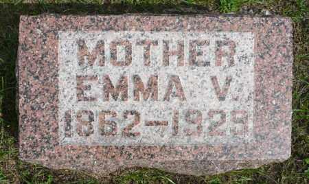 CAVANAUGH, EMMA V. - Minnehaha County, South Dakota | EMMA V. CAVANAUGH - South Dakota Gravestone Photos