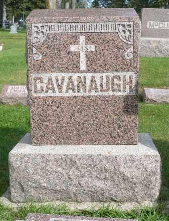 CAVANAUGH, FAMILY MARKER - Minnehaha County, South Dakota | FAMILY MARKER CAVANAUGH - South Dakota Gravestone Photos