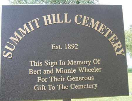 *CEMETERY, SUMMIT HILL - Minnehaha County, South Dakota | SUMMIT HILL *CEMETERY - South Dakota Gravestone Photos