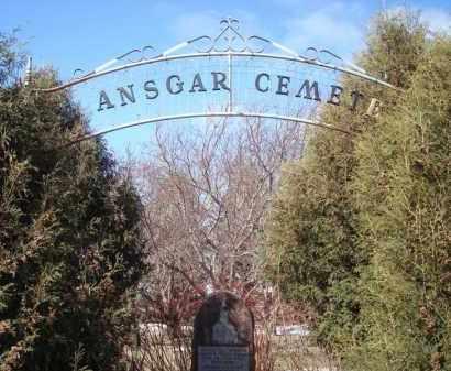 *CEMETERY SIGN, SAINT ANSGAR - Minnehaha County, South Dakota | SAINT ANSGAR *CEMETERY SIGN - South Dakota Gravestone Photos