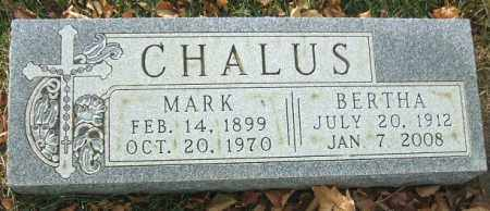 CHALUS, BERTHA - Minnehaha County, South Dakota | BERTHA CHALUS - South Dakota Gravestone Photos