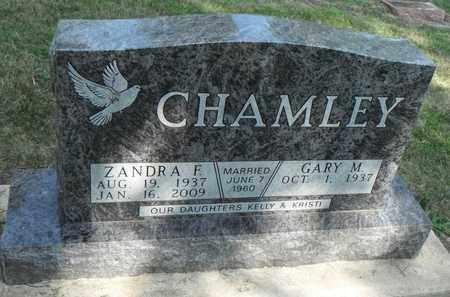 THOMPSON CHAMLEY, ZANDRA - Minnehaha County, South Dakota   ZANDRA THOMPSON CHAMLEY - South Dakota Gravestone Photos