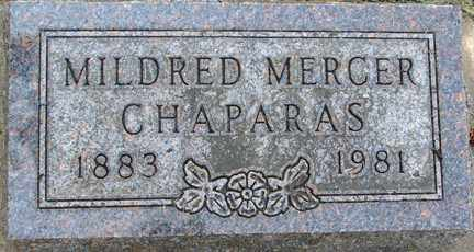 CHAPARAS, MILDRED - Minnehaha County, South Dakota | MILDRED CHAPARAS - South Dakota Gravestone Photos