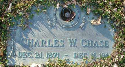 CHASE, CHARLES W. - Minnehaha County, South Dakota   CHARLES W. CHASE - South Dakota Gravestone Photos