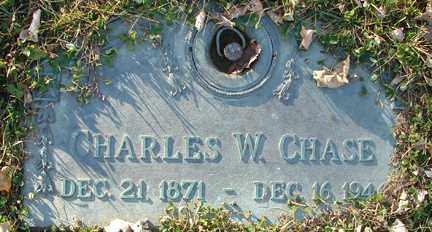 CHASE, CHARLES W. - Minnehaha County, South Dakota | CHARLES W. CHASE - South Dakota Gravestone Photos