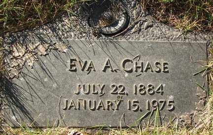 CHASE, EVA A. - Minnehaha County, South Dakota | EVA A. CHASE - South Dakota Gravestone Photos