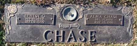 CHASE, ERNEST G - Minnehaha County, South Dakota | ERNEST G CHASE - South Dakota Gravestone Photos