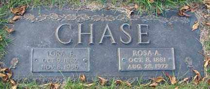 CHASE, LORA E. - Minnehaha County, South Dakota | LORA E. CHASE - South Dakota Gravestone Photos