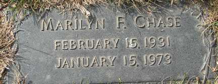 CHASE, MARILYN F. - Minnehaha County, South Dakota   MARILYN F. CHASE - South Dakota Gravestone Photos