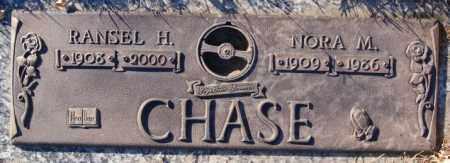 CHASE, NORA M - Minnehaha County, South Dakota | NORA M CHASE - South Dakota Gravestone Photos