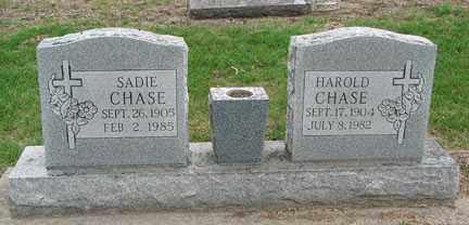 CHASE, SADIE - Minnehaha County, South Dakota | SADIE CHASE - South Dakota Gravestone Photos