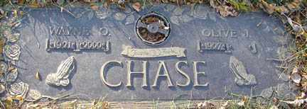 CHASE, WAYNE O. - Minnehaha County, South Dakota | WAYNE O. CHASE - South Dakota Gravestone Photos
