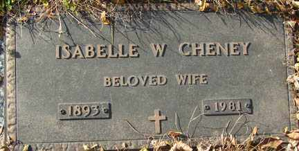 CHENEY, ISABELLE W. - Minnehaha County, South Dakota | ISABELLE W. CHENEY - South Dakota Gravestone Photos