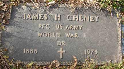 CHENEY, JAMES H. - Minnehaha County, South Dakota | JAMES H. CHENEY - South Dakota Gravestone Photos