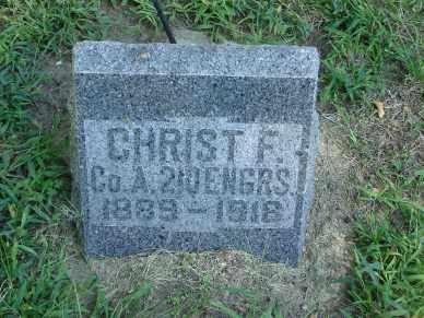 LARSON, CHRIST FRED - Minnehaha County, South Dakota | CHRIST FRED LARSON - South Dakota Gravestone Photos