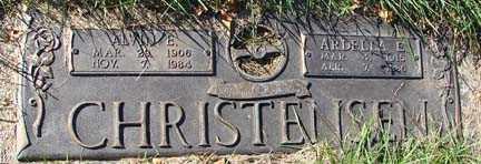 CHRISTENSEN, ALVIN E. - Minnehaha County, South Dakota   ALVIN E. CHRISTENSEN - South Dakota Gravestone Photos