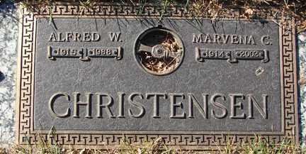 CARLSON CHRISTENSEN, MARVENA CORA - Minnehaha County, South Dakota | MARVENA CORA CARLSON CHRISTENSEN - South Dakota Gravestone Photos