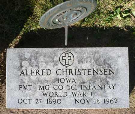 CHRISTENSEN, ALFRED - Minnehaha County, South Dakota   ALFRED CHRISTENSEN - South Dakota Gravestone Photos