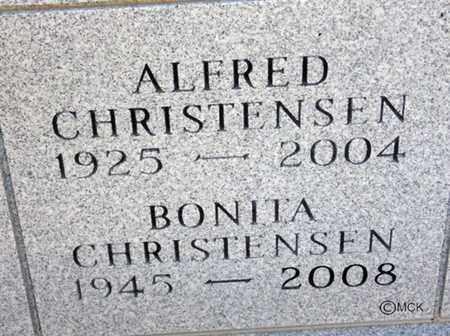 CHRISTENSEN, ALFRED - Minnehaha County, South Dakota | ALFRED CHRISTENSEN - South Dakota Gravestone Photos