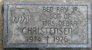 CHRISTENSEN, BEN RAY JR. - Minnehaha County, South Dakota | BEN RAY JR. CHRISTENSEN - South Dakota Gravestone Photos