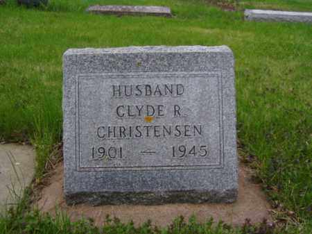 CHRISTENSEN, CLYDE R. - Minnehaha County, South Dakota | CLYDE R. CHRISTENSEN - South Dakota Gravestone Photos