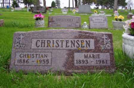 CHRISTENSEN, CHRISTIAN - Minnehaha County, South Dakota | CHRISTIAN CHRISTENSEN - South Dakota Gravestone Photos