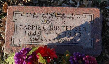 CHRISTENSEN, CARRIE - Minnehaha County, South Dakota | CARRIE CHRISTENSEN - South Dakota Gravestone Photos