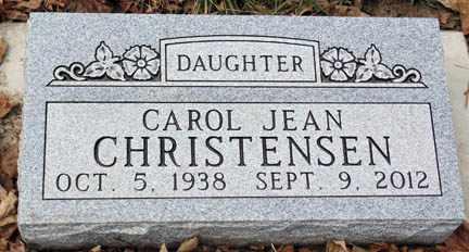 CHRISTENSEN, CAROL JEAN - Minnehaha County, South Dakota | CAROL JEAN CHRISTENSEN - South Dakota Gravestone Photos