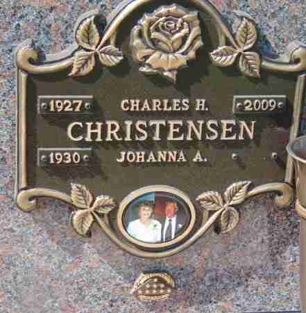 CHRISTENSEN, JOHANNA A. - Minnehaha County, South Dakota | JOHANNA A. CHRISTENSEN - South Dakota Gravestone Photos