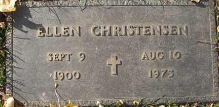CHRISTENSEN, ELLEN - Minnehaha County, South Dakota | ELLEN CHRISTENSEN - South Dakota Gravestone Photos