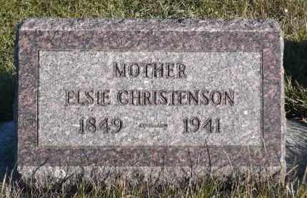 CHRISTENSEN, ELSIE - Minnehaha County, South Dakota | ELSIE CHRISTENSEN - South Dakota Gravestone Photos